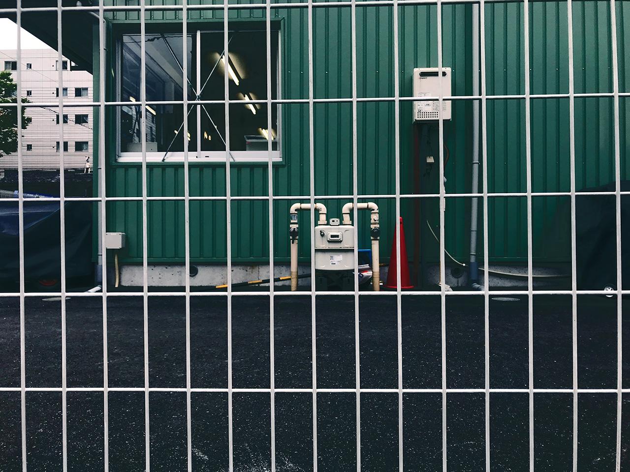亀沢保育園仮園舎
