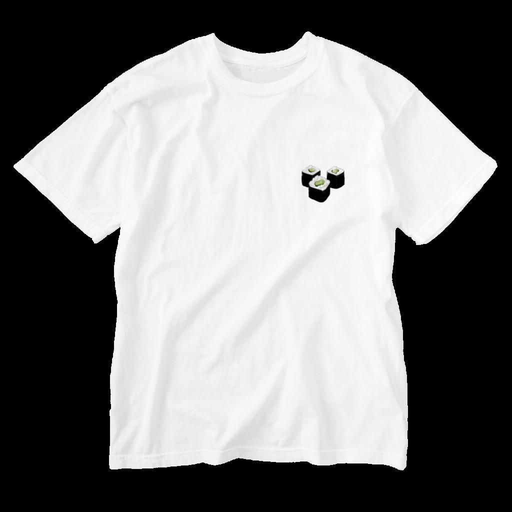 かっぱの寿司Tシャツ白