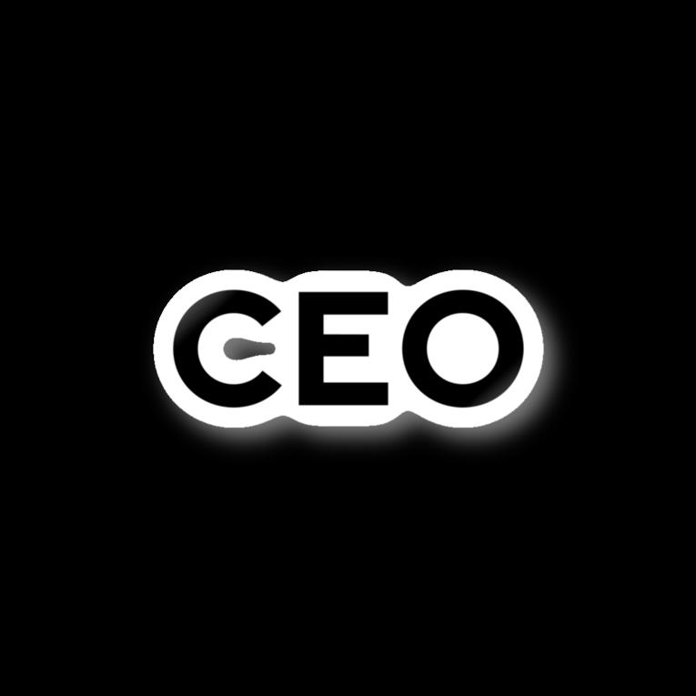 CEOステッカー
