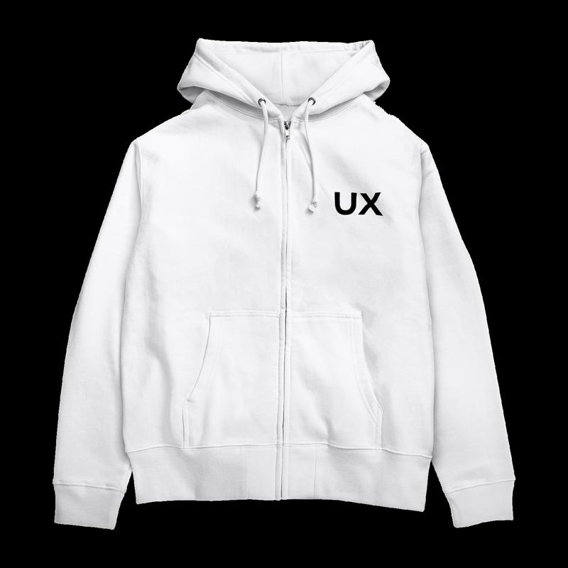 UXパーカー